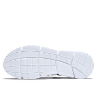 健足乐 中老年人健步防滑运动舒适透气休闲爸爸鞋 J912330010 黑/浅灰 39