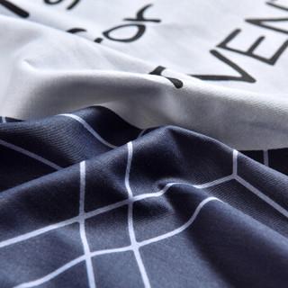雅鹿·自由自在 枕套床品家纺 全棉枕头罩 单只装 信封式枕套 48*74cm 法尼亚