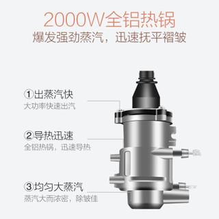 海尔(Haier) 挂烫机 2.5L 单杆电子9档 家用手持/挂式电熨斗HY-GD2509S