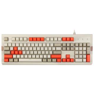 黑爵(AJAZZ)AK510樱桃轴机械键盘 原厂CHERRY轴 红轴 无光版 PBT键帽 游戏 办公 电脑 笔记本 吃鸡键盘