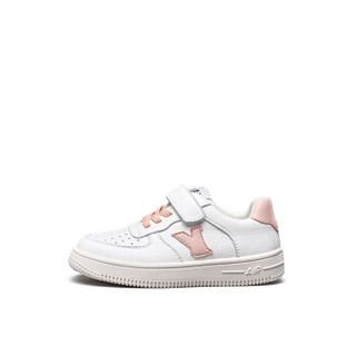 意尔康童鞋女童板鞋春款新品2019单鞋中大童儿童运动鞋男童鞋子ECZ9155665 粉色 29