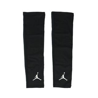 耐克NIKE乔丹射手护臂套运动骑行篮球健身护小臂护大臂护肘黑色2只装JKS04010L/XL(肘关节大于24cm)