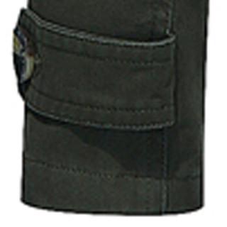 卡帝乐鳄鱼(CARTELO)风衣 男士潮流纯色翻领中长款风衣外套QT4000-5793军绿色M