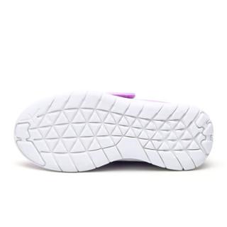 HelloKitty 女童运动鞋 休闲时尚透气网面跑步鞋K8513803嫩紫33