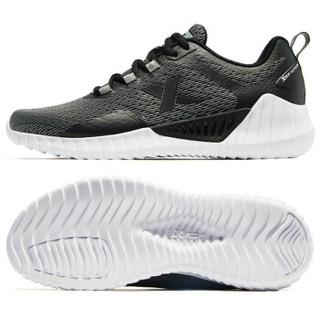 XTEP 特步 男鞋跑步鞋春季新款男士跑鞋休闲鞋户外健身男运动鞋881119119012 黑灰 41码