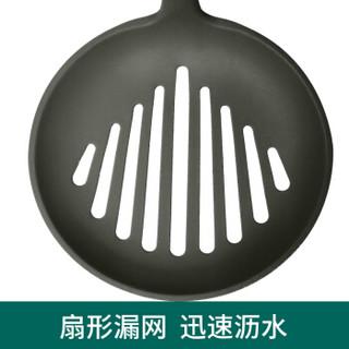 华帝 漏勺 硅胶漏勺 大号火锅漏勺 捞面勺沥勺油炸勺S538