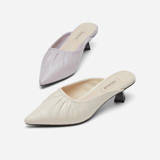 hotwind 热风 女士时尚单鞋   H35W9512    11紫色 37
