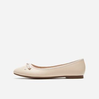 hotwind 热风 H07W9501 女士时尚单鞋 03米色 36