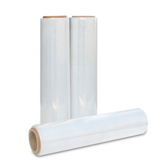 谋福 CNMF 8869  自粘性缠绕膜 包装膜  拉伸膜  打包膜 透明薄膜 防水膜捆包膜( 50cm宽 约150米长)
