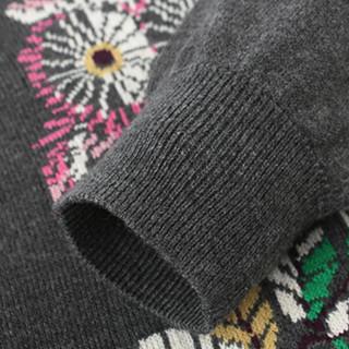 Gap旗舰店 女婴幼童 儿童长袖拼接连衣裙 小童裙子 秋装 猫头鹰图案 80cm(12-18月)