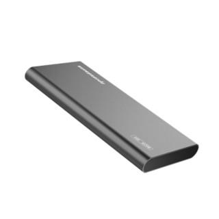 超音速 Supersonic 512GB type-c 3.1 移动固态硬盘(pssd)P20钛银灰畅速轻薄 抗震防摔