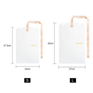整理生活 韩国叠衣板dressbook 懒人折衣板 衣服收纳衬衫叠衣神器 10件套(大号)