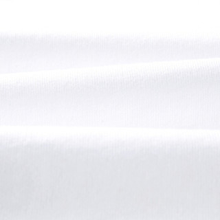 HLA海澜之家短袖T恤男2019夏季新品时尚拼接圆领字母短THNTBJ2R116A米白镶拼(B6)190/104A(56)