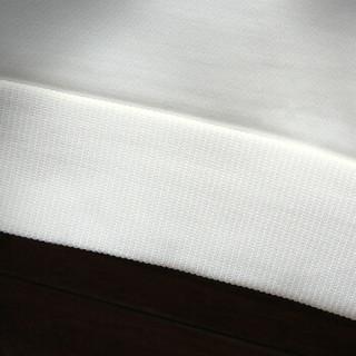 富铤 FORTEI 长袖T恤男装2019春季新款圆领韩版休闲上衣打底衫卫衣男2913 白色 2XL