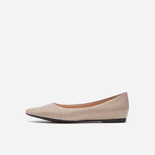 hotwind 热风 H24W9526 女士时尚单鞋 12金色 38