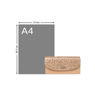 COACH 蔻驰 女士金色皮质手拿包 F38692SVGD