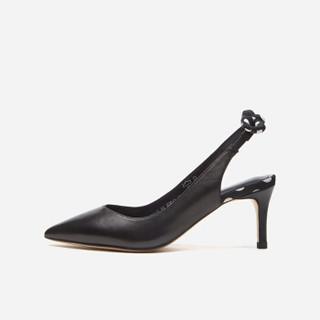 hotwind 热风 女士时尚高跟鞋  H35W9515 04白色 37