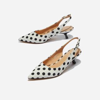hotwind 热风 女士时尚单鞋  H35W9510   01黑色 39