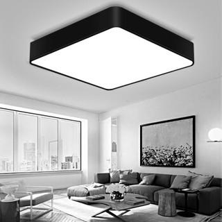 nvc-lighting/雷士照明 led吸顶灯 北欧吸顶灯 黑色 36W