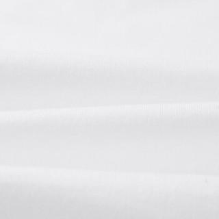HLA海澜之家短袖T恤男2019夏季新品时尚绣标舒适圆领短THNTBJ2R051A米白(51)165/84A(46)