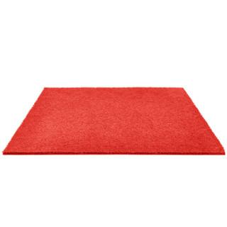 兰诗(LAUTEE)LS-1101 酒店宾馆防滑蹭土商用拉丝地垫 门垫入户垫 红色0.9米宽*1.5米长