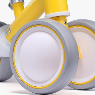 小米生态链柒小佰 儿童平衡车 滑行车溜溜车婴儿学步车宝宝玩具单车三轮无脚踏助步车  小粉