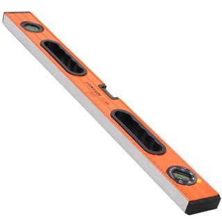 龙韵 LOMVUM 专业级800mm高精度强磁水平尺 家用盒式三水泡 铝合金靠尺装修测量工具尺水平仪