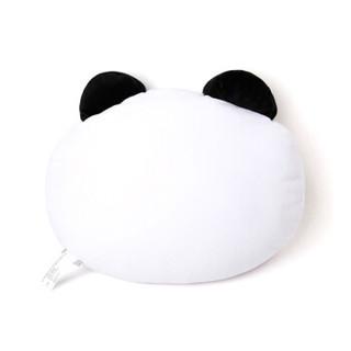 LINE FRIENDS 胖友抱枕42cm 毛绒玩具公仔脸型玩偶靠垫