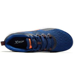 XTEP 特步 男鞋跑步鞋春季新款男士跑鞋休闲鞋户外健身男运动鞋 881119119012 兰 42码