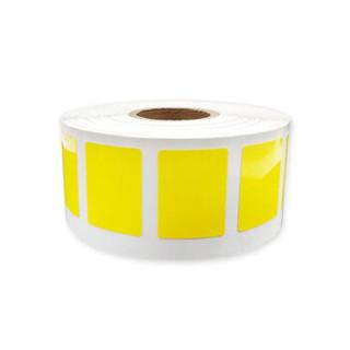 HUMANFUN HP201-04Y 打印标签纸 25mm*18mm (500片/卷) 黄色
