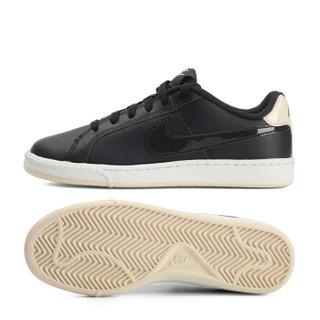 NIKE 耐克 女子 板鞋/复刻鞋 WMNS NIKE COURT ROYALE 运动鞋 749867-004 黑色 40码