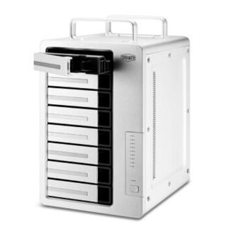 铁威马 TERRA MASTER F8-421企业级intel四核 八盘位NAS网络存储服 云存储务器 四千兆网口