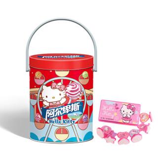 Alpenliebe 阿尔卑斯 Hello Kitty 棒棒糖 混合口味 464g 49支 桶装