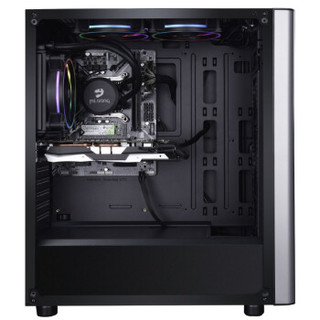 名龙堂(MLOONG)GI80 i7 8700/新品RTX2060独显/240G SSD/8G内存/水冷主机/吃鸡游戏DIY台式组装电脑主机