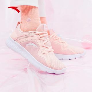 ANTA 安踏 跑步系列 92915520 女鞋跑步鞋2019新鞋新款休闲鞋小粉鞋缓震跑鞋运动鞋女 婴儿粉/安踏白 8(女39)