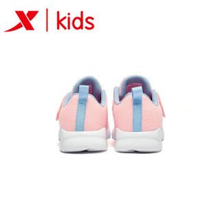特步童鞋 儿童鞋子男童运动鞋小童女童鞋飞机鞋男孩休闲鞋 681116329161 粉红 30