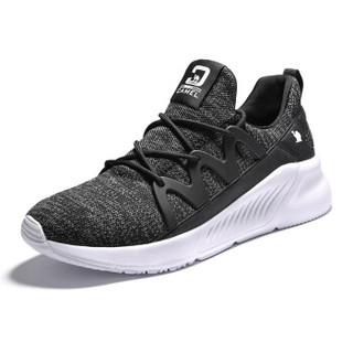 CAMEL 骆驼 运动网面休闲鞋轻便板鞋透气男士休闲鞋 A912318125 黑色 39