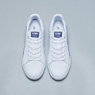 361° 361度 男鞋2019年新款时尚板鞋运动跑步鞋滑板鞋休闲鞋 671916620-2 361度白/星球蓝 44