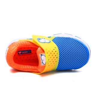 史努比(SNOOPY)童鞋男童运动鞋 春季新品儿童运动鞋透气男童鞋中小童鞋 S9112818宝蓝31