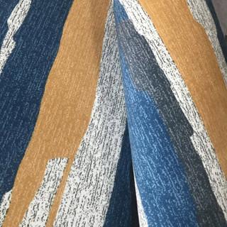 青苇 印花地毯 客厅卧室短绒地毯 韵律140*200cm