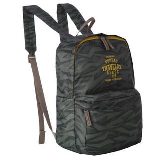 探路者/TOREAD  户外便携式10升背包双肩多口袋超轻背包ZEBF80305-H02X军绿迷彩
