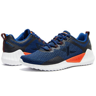 XTEP 特步 男鞋跑步鞋春季新款男士跑鞋休闲鞋户外健身男运动鞋 881119119012 兰 39码