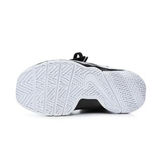 耐克(Nike)童鞋男童篮球鞋 防滑魔术贴运动鞋881942-001 黑色11C/28码