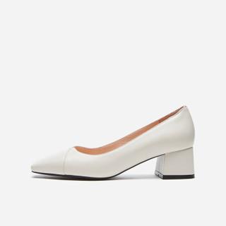 hotwind 热风 H18W9511 女士时尚单鞋 08杏色 37