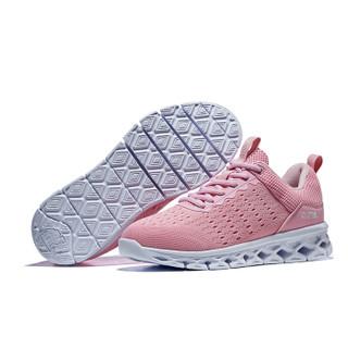 CAMEL 骆驼 运动鞋男女跑步鞋时尚休闲情侣款鞋子透气超轻跑鞋 A91600604 女款粉红 40