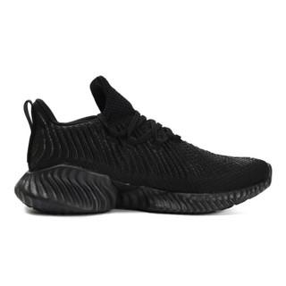adidas 阿迪达斯 中性 跑步系列 alphabounce instinct 运动 跑步鞋 D97320 42码 UK8码 黑色