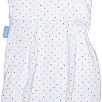 英国 Grosung 多合一包巾 新生儿睡袋 轻盈版 彩虹圆点 AFE1011