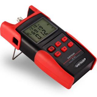 胜为(shengwei)高精度光功率计光纤测试仪收光器 光纤尾纤线路光衰减检测仪网络测试器测线仪检测器 OM-606