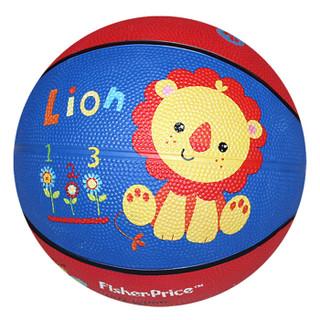 费雪(Fisher Price)儿童玩具球(7寸篮球狮子+9寸拍拍球红色+10寸摇摇球蓝色 赠送打气筒)