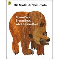 棕熊你看到了什么?艾瑞克 卡尔爷爷 平装 Brown Bear, Brown Bear, What Do You See